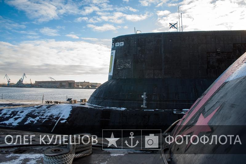 Sauna in the Typhoon class Submarine