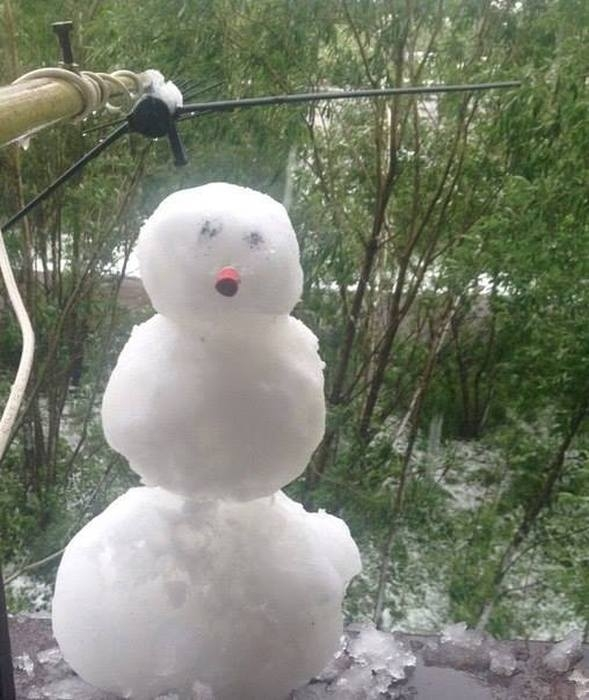 Russian Summer is a Snowy Summer