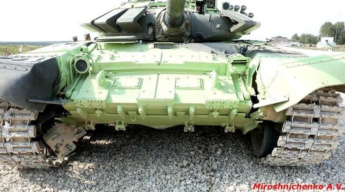 When a Tank Hits a Wall
