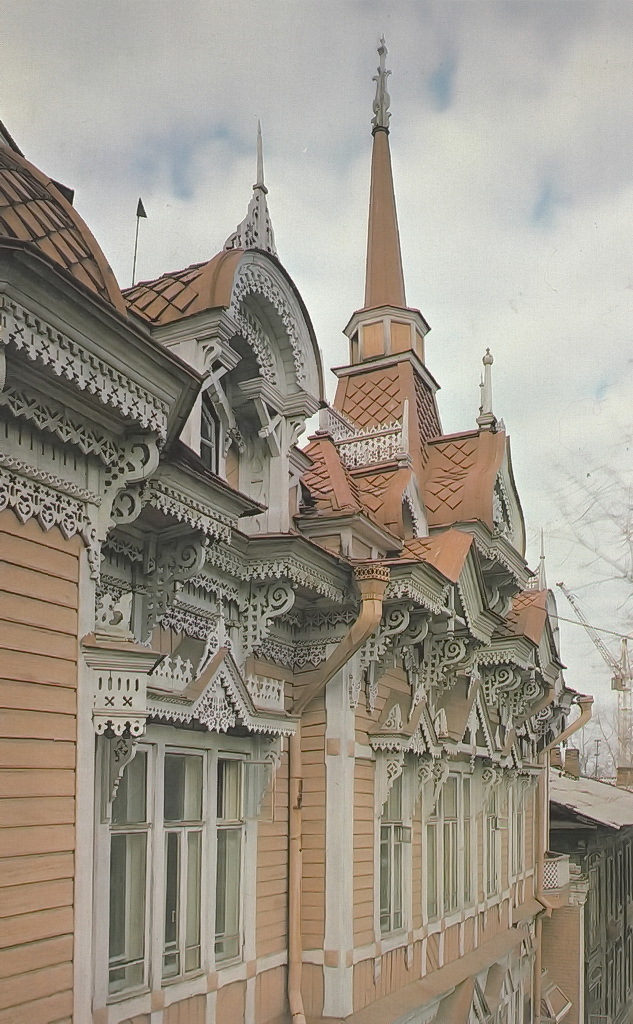 Russian Wooden Lace Architecture