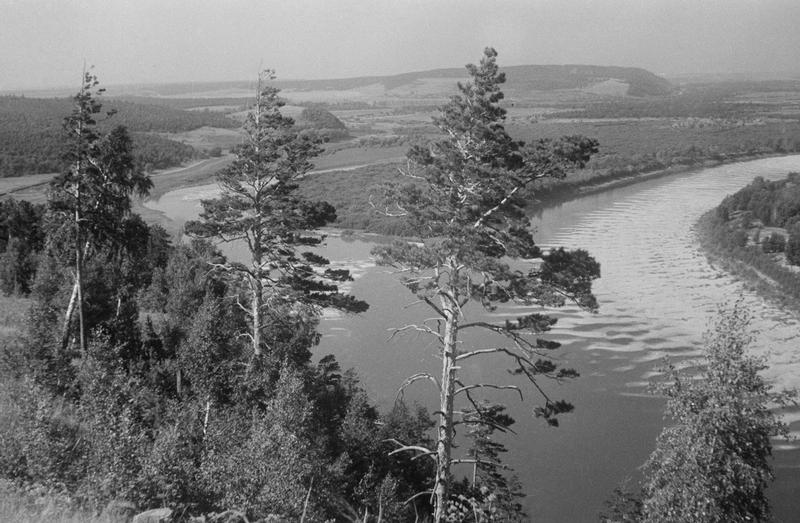 Construction of the Great Volga Hydro Power Plant and Vintage Photos of Samara