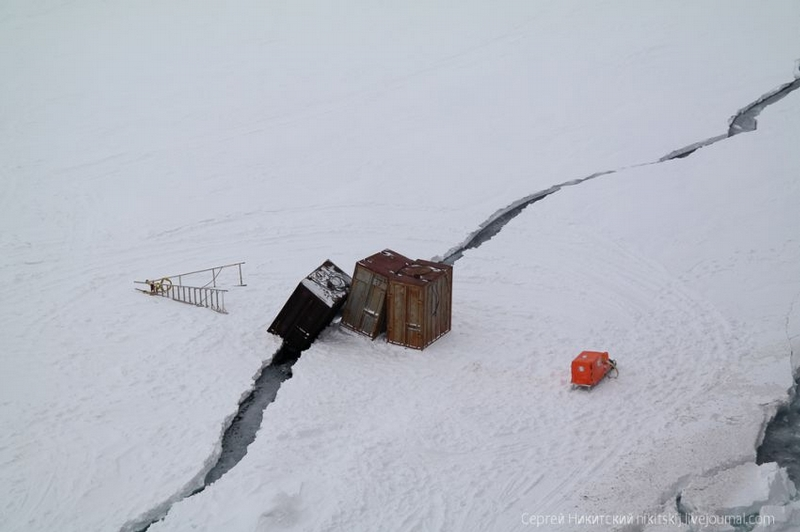 Saving Equipment from Shattered Ice