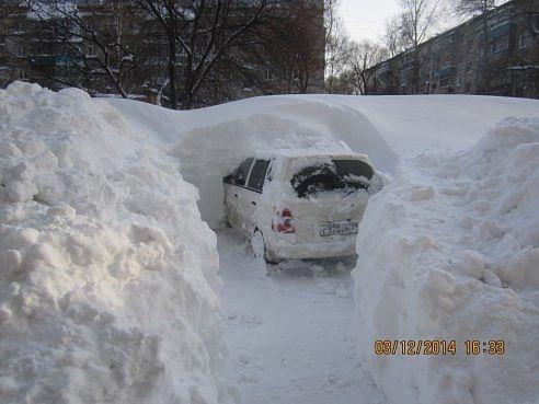 Snow Storm in Vladivostok [updated]