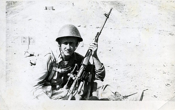 Soviet Snipers in Afghanistan in 1979 to 1989