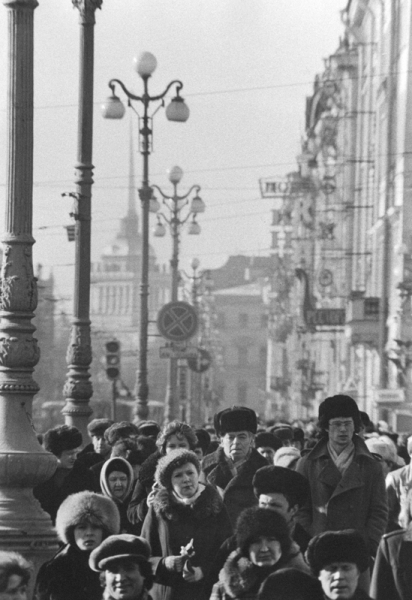 Selected Shots of the Soviet Past