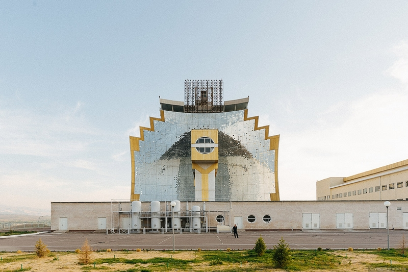 Soviet Wonder of the World: The Great Solar Furnace in Uzbekistan [30 photos]