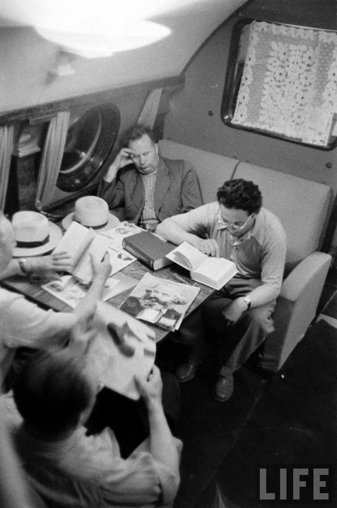 First Class Seats in Soviet Airliners