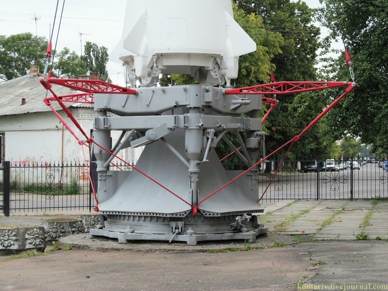 Soviet Missile R-12 in a Museum