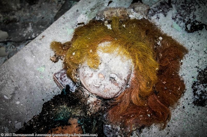 spooky dolls chernobyl sablasne lutke Černobila