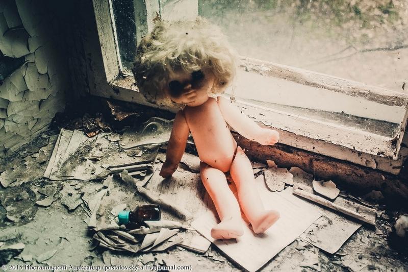 Spooky Dolls of Chernobyl