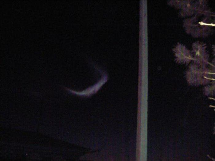 Strange Phenomena in Night Skies
