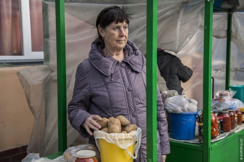 Grannies of Astana Selling their Foods