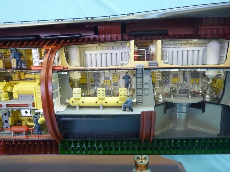 Submarine 667-A Navaga scale model
