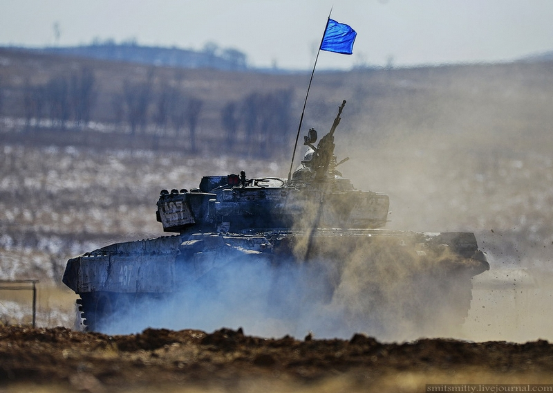Russian Tank Biathlon 2015 Regional Games