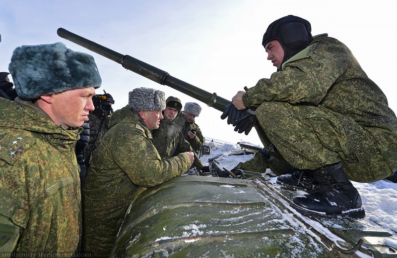 Here some Photos from the Tank Biathlon in Russia