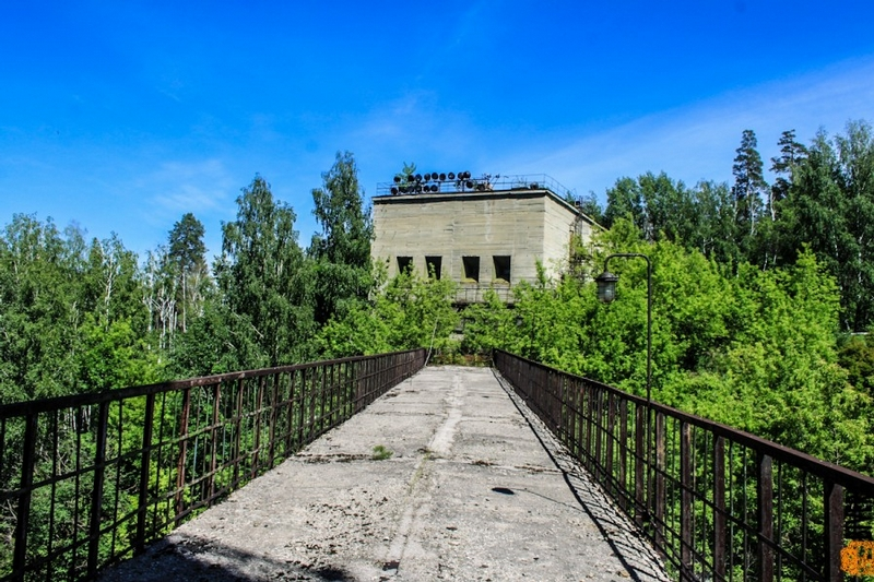 An Abandoned Soviet Stand for Testing Rocket Engines