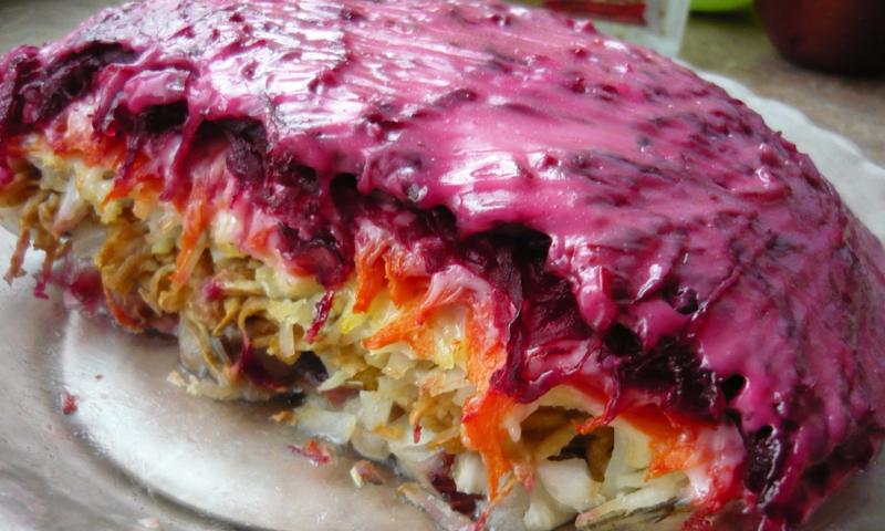 5 the most popular Soviet salads