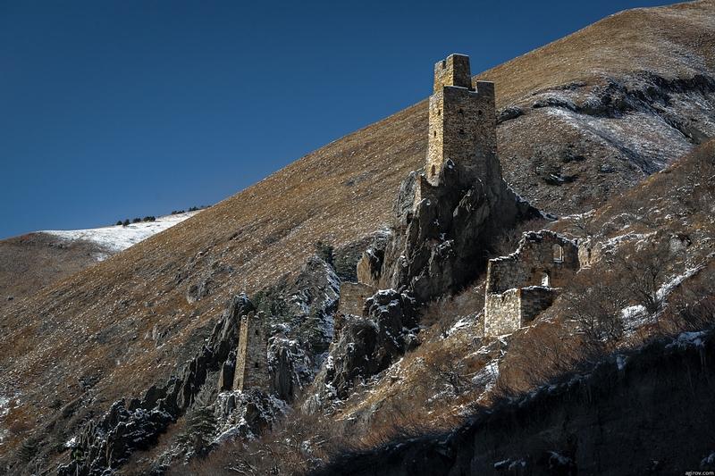 Old Watch Towers of Ingushetia