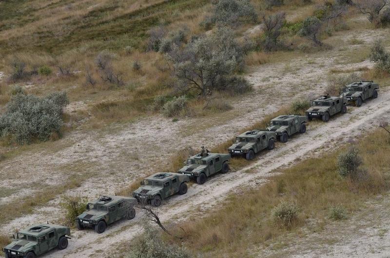 Ukraine American Military Drill September 2015