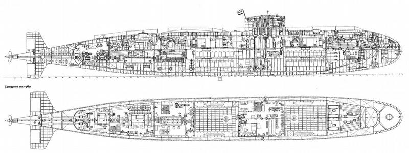 Ukrainian Submarine in Bad Condition