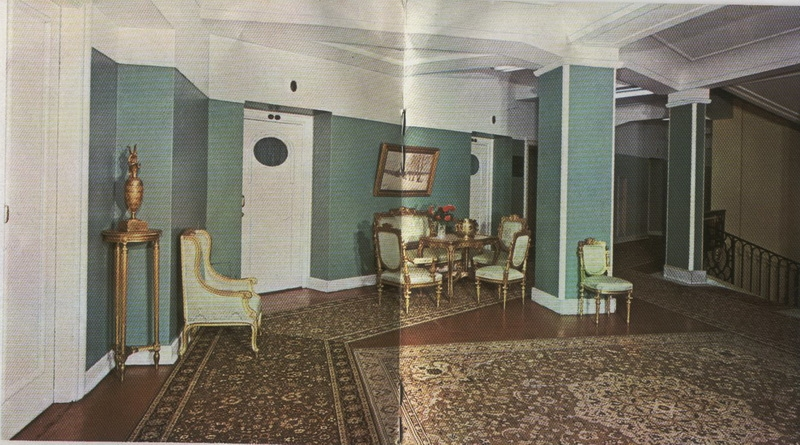 Soviet Ad of Leningrad Hotel Astoria