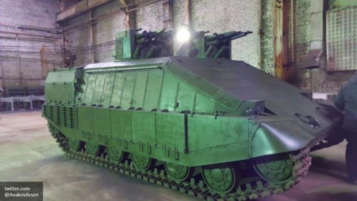 Weird Ukrainian tanks and armored vehicles