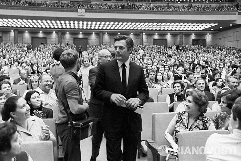 Foreign Celebrities in the USSR