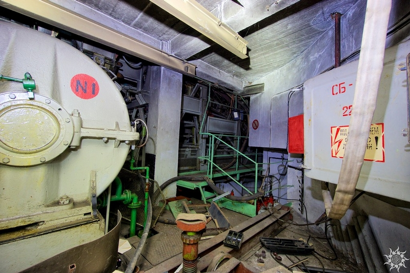 Abandoned Secret Facility Entrace