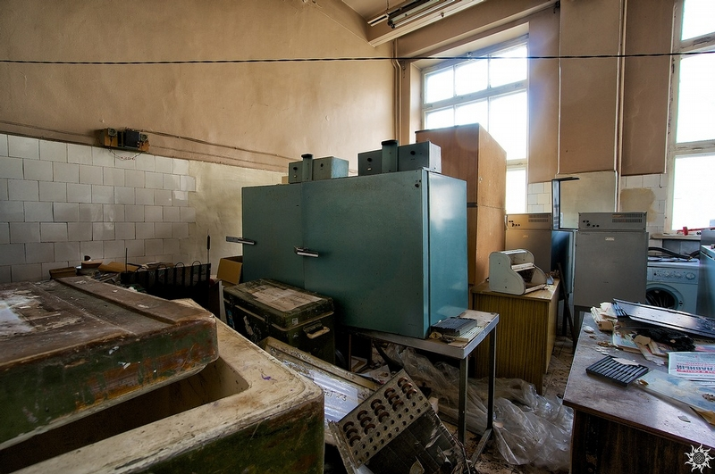 Abandoned Microbiology Lab
