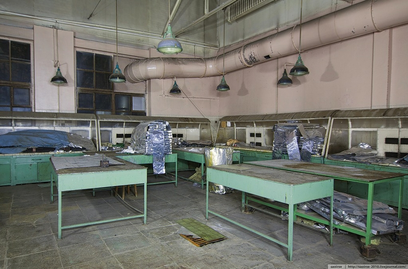 An Abandoned Workshop In Moscow
