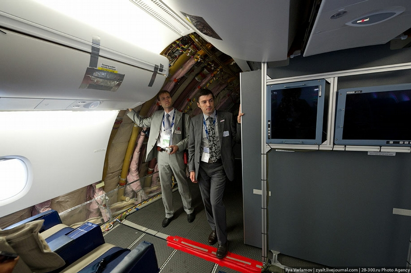 Aircraft For A Comfortable Flight