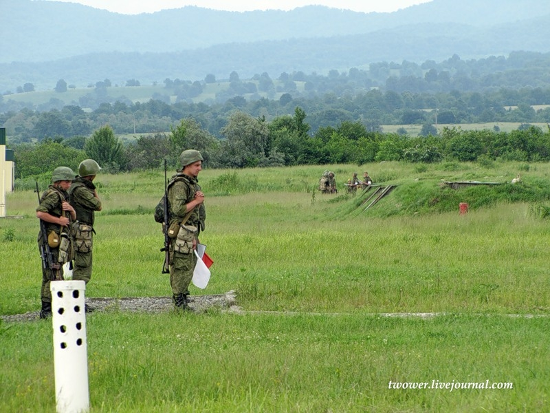 Military Training In Ossetia