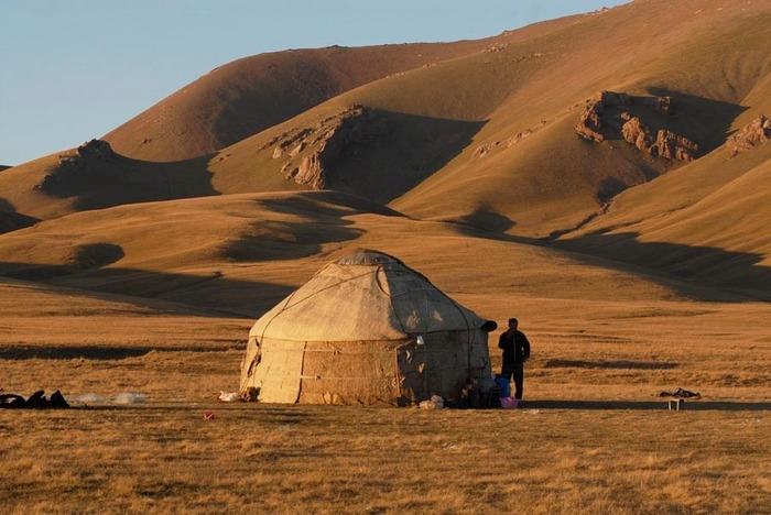 Nomad Camp In Kyrgyzstan