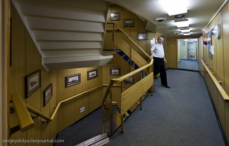 A Visit to A Russian Icebreaker