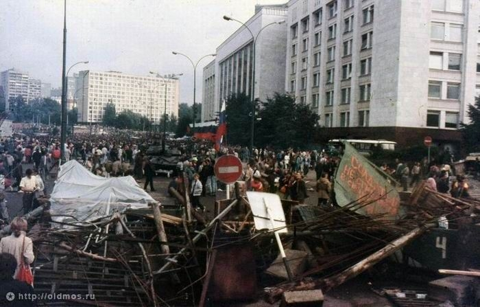 August Putsch Of 1991: the USSR Collapse