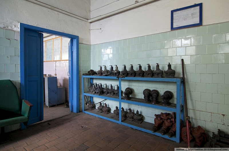 Abandoned Repair Station Of Break Equipment