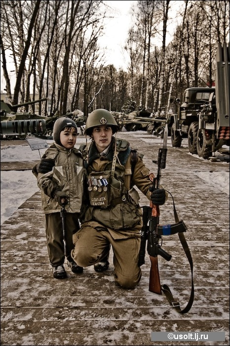 American View On Soviet Soldiers