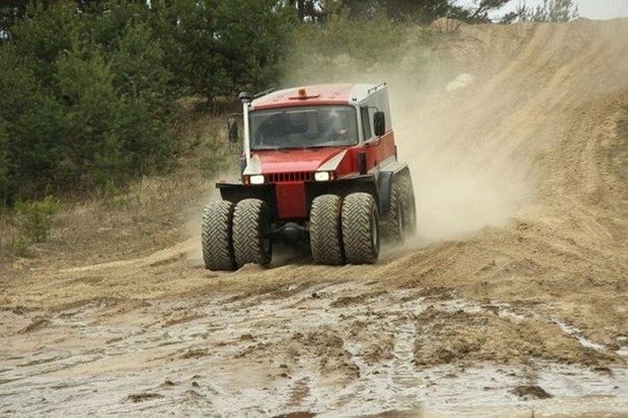 One Monster Truck from Belarus