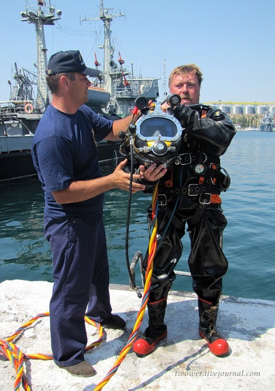 Rescue Task Units Of the Black Sea Fleet
