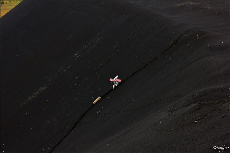 Extreme Skating Through The Slag Mountains
