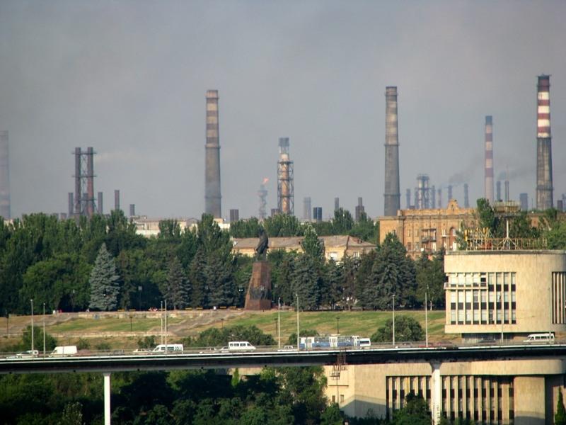 Old Soviet Blast Furnaces