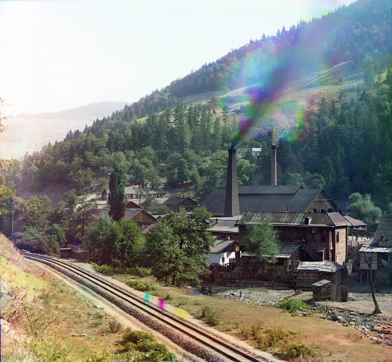 Bottling Russian Borjomi Water at Source