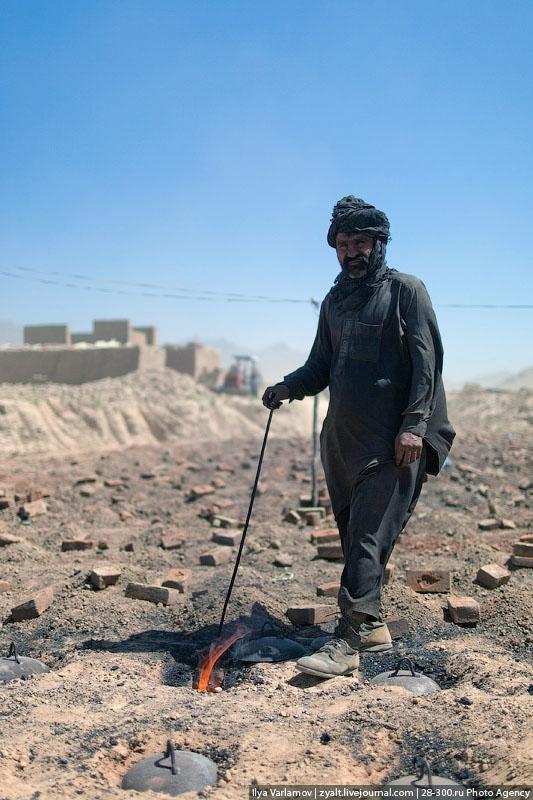 How Afghan Bricks are Produced