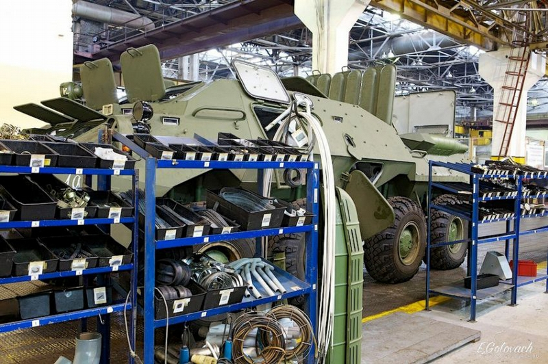 How Russian BTRs Are Being Assembled