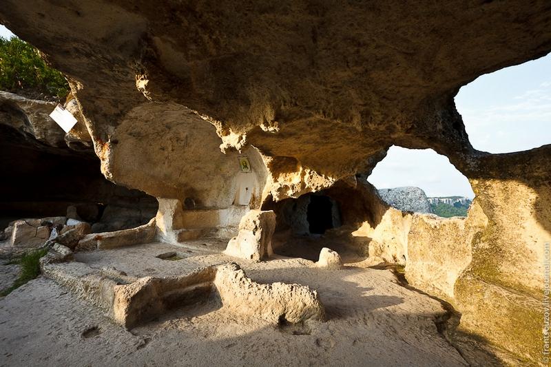 Medieval Cave Town Eski-Kermen