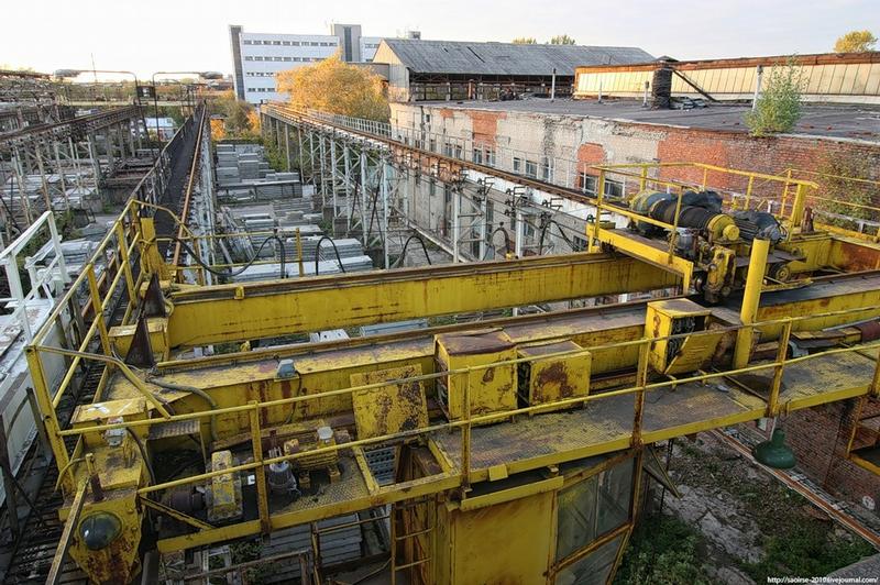Semi-Abandoned Concrete Producing Plant