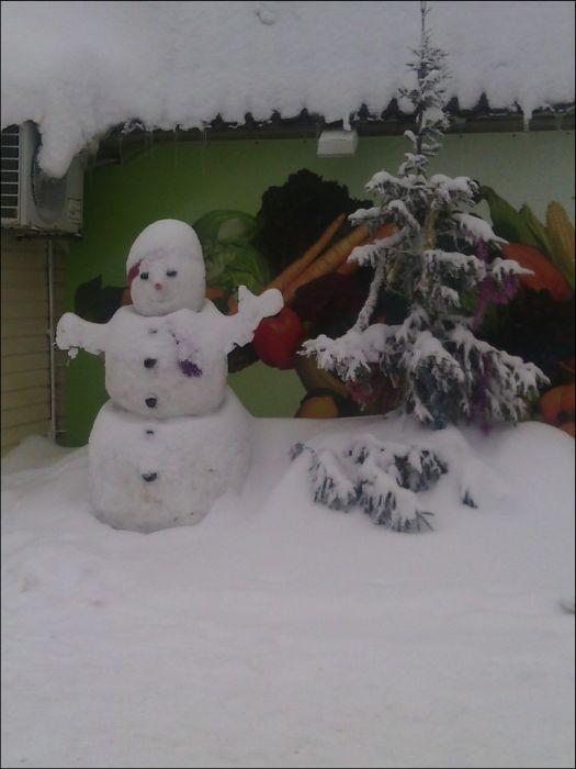 Snowmen of Tatarstan Children
