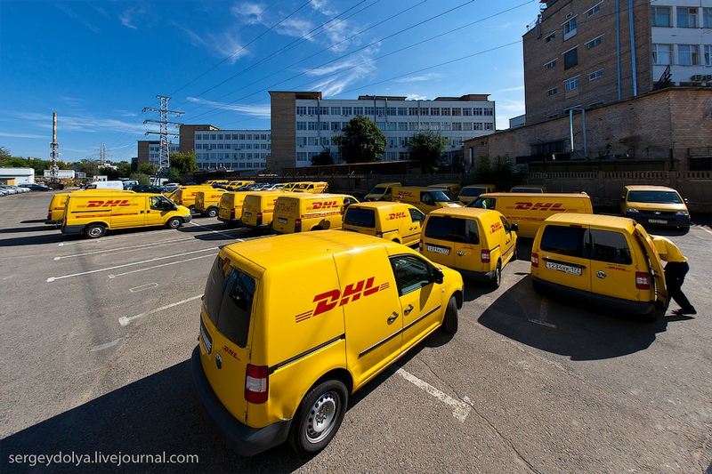 DHL In Russia