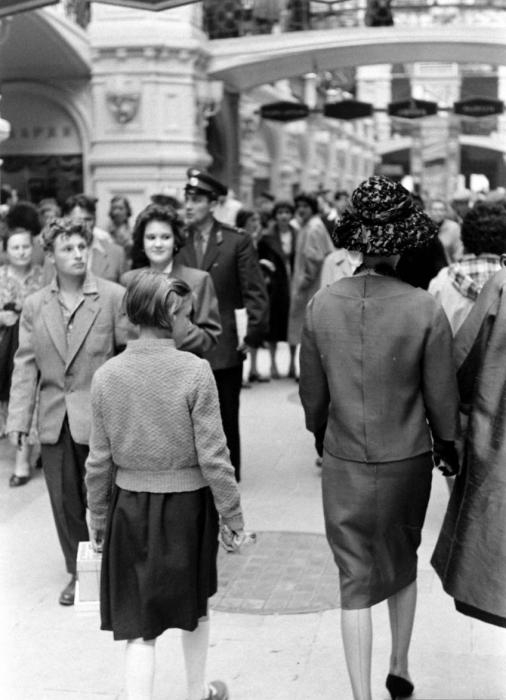 Stylish French Women In Soviet Moscow