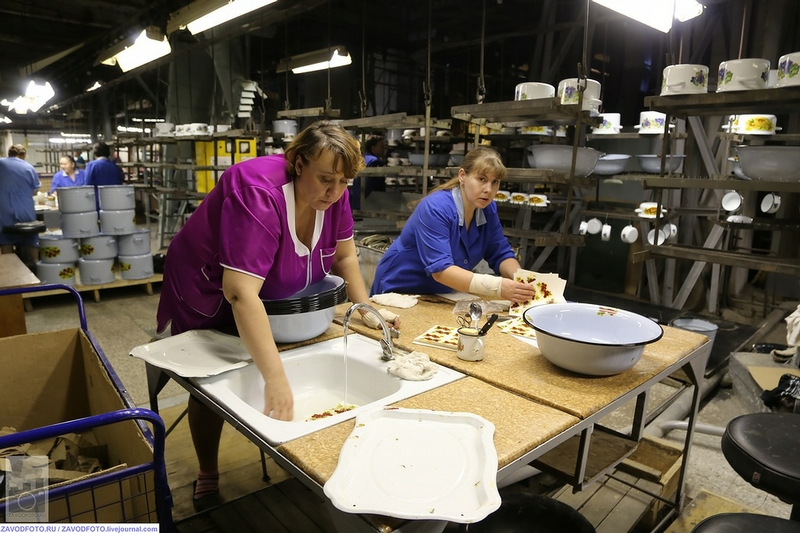 Secrets of Enamelware Manufacture